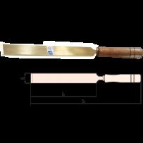 Scraper, Flat with Wooden Handle