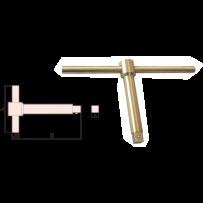 Sliding T Type Wrench (metric)