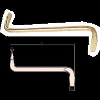 Slotted Offset Screwdriver (DIN 5200)