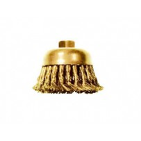 Brass Cup Wire Brush, Knot Wire
