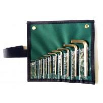 Wrench, Hex Key Set-9pcs (metric)