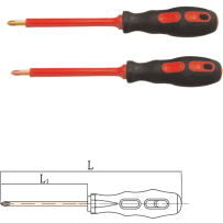 Phillips Screwdriver, Insulated 1000V